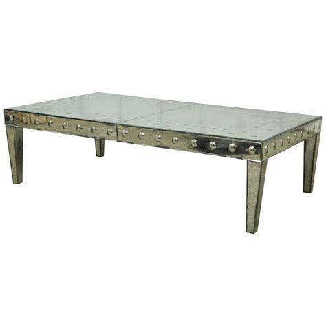 Antiqued Mirror Coffee Table For Sale At 1stdibs