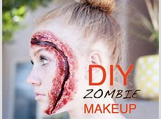 DIY Zombie Makeup Tutorial All Things Thrifty