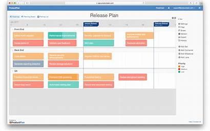 Release Plan Template Calendar Excel Roadmap Documentation