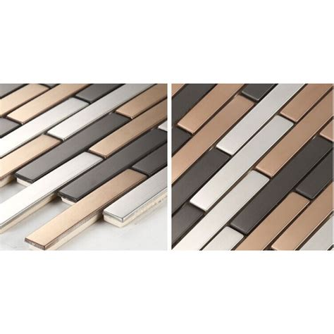 stainless steel tile stainless steel backsplash subway tile modern fashion