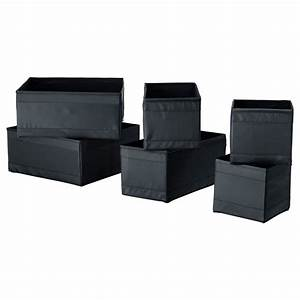Ikea Cd Box : ikea skubb set of 6 storage box organizer wardrobe drawer divider ebay ~ Orissabook.com Haus und Dekorationen