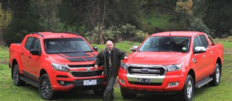 future ford ranger vs colorado test is a preview of the future ford