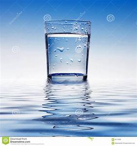 Glass Of Water Stock Photo  Image Of River  Liquid  Thirst