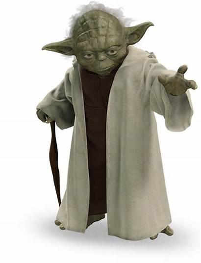 Yoda Wars Star Jedi Characters Starwars Master