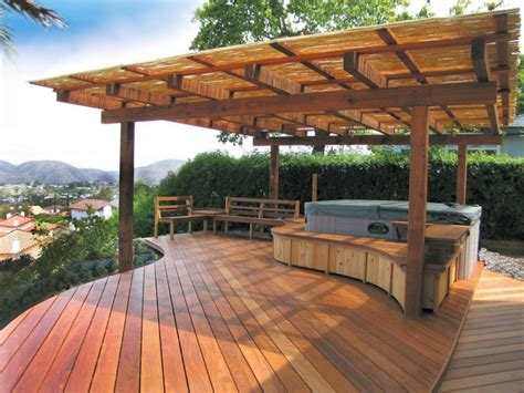 Patios & Decks : 50 Gorgeous Decks And Patios With Hot Tubs