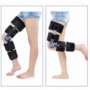 Au 120 U00b0 Adjustable Hinged Knee Brace Rom Post