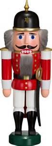 nutcracker soldier red 27 cm 11in by seiffener volkskunst