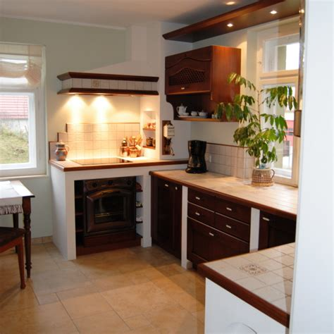 Unsere Referenzküchen  Küche Mit Gefliester Arbeitsplatte