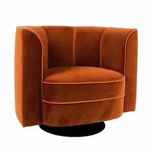 Fauteuil En Velours : fauteuil lounge velours flower dutchbone by drawer ~ Dode.kayakingforconservation.com Idées de Décoration