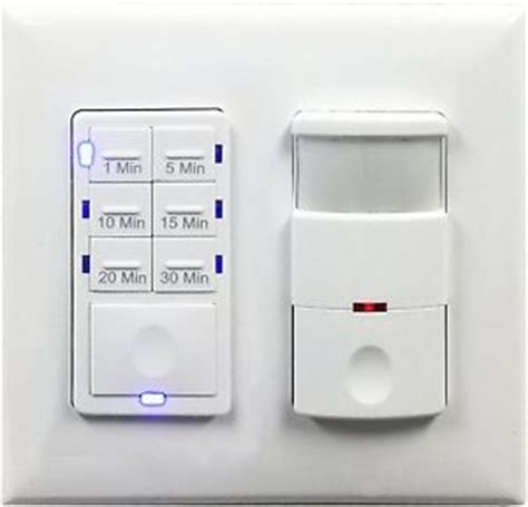 2 30 min fan timer bathroom switch and motion sensor