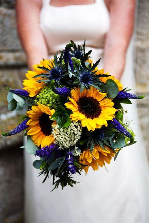 wedding flowers   hottest colours   sunflower