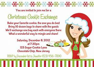 starts with cupcakes an american tradition With cookie swap invitation template
