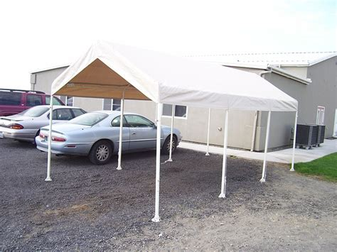 car canopy costco steel frame canopy  side