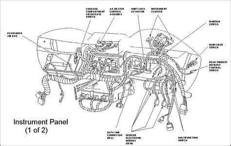 2000 ford mustang stereo wiring diagram 2000 mustang v6 radio wiring diagram efcaviation