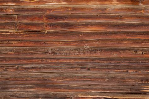 Log House Wall Texture Stock Photo. Image Of House, Brown
