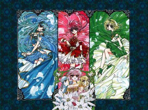 Earth Chan Anime Capitulo 1 Magic Rayearth Wallpaper Zerochan Anime Image Board