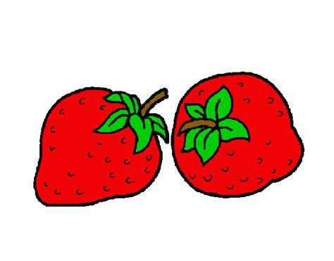 Dibujo De Fresas Silvestres Pintado Por Lefevifi En