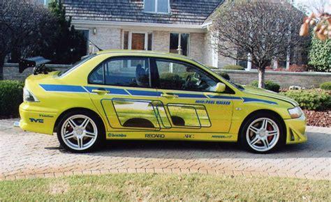 2 Fast 2 Furious Brians Evo   Car Interior Design