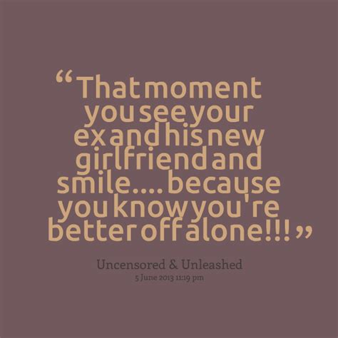 funny quotes about your ex's new girlfriend