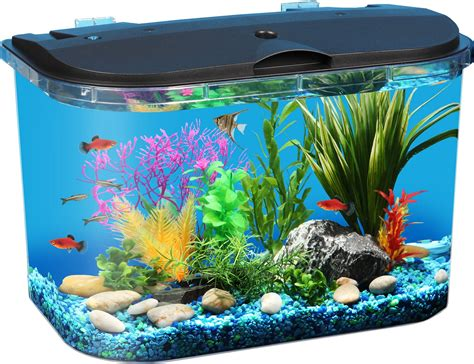 fish aquariums koller products tropical panaview aquarium starter kit 5