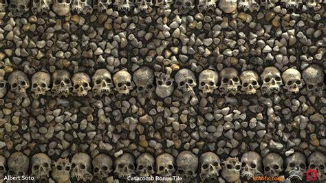 artstation catacomb bones albert soto