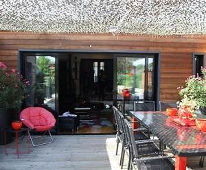 photo deco terrasse dans une chalet contemporain http With exceptional idee deco terrasse jardin 12 ambiance campagne chic maison and deco