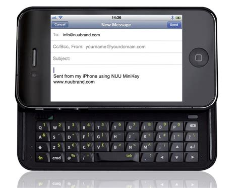 keyboards for iphone nuu minikey bluetooth keyboard for iphone 5 review