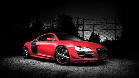 Audi Car : Audi Car Wallpaper Red Color