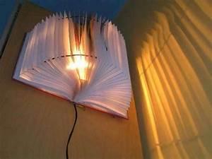 Bücher Selber Machen : basteltipps kreatives lampen modell selber machen aus einem buch lampe selber machen 30 ~ Eleganceandgraceweddings.com Haus und Dekorationen