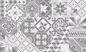 Tapis Vinyl Carreaux De Ciment Pas Cher : tapis vinyle carreaux de ciment l on gris tourterelle ~ Preciouscoupons.com Idées de Décoration