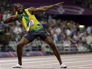 Victory Celebration  Did Pingu Inspire Usain Bolt