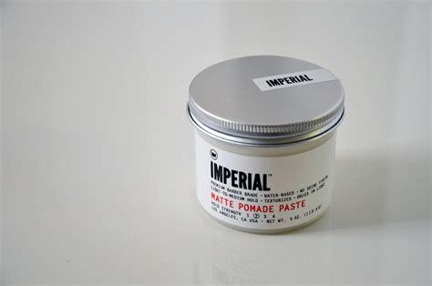 imperial matte pomade imperial matte pomade paste
