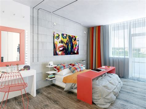 College Student Bedroom Decorating Ideas-home Combo