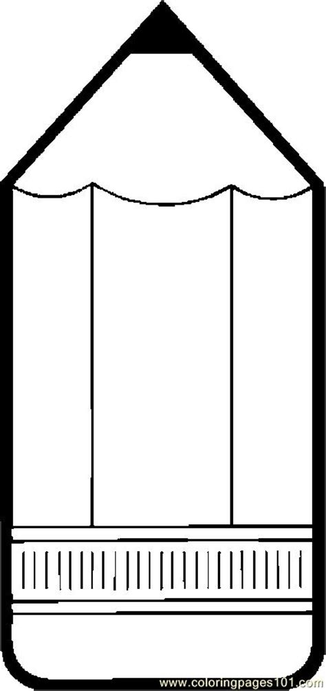 pencil template 6 best images of printable pencil template pencil coloring page printables pencil box
