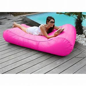 Pouf Scandinave Pas Cher : matelas de piscine flottant wave gonflable canap pouf pas cher ~ Teatrodelosmanantiales.com Idées de Décoration