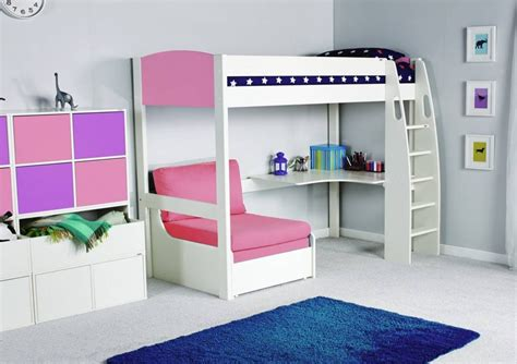 High Sleeper With Sofa And Desk by High Sleeper Bed With Desk And Sofa Tinsley Highsleeper