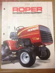 Roper Advertisment Garden Tractor Plus Lawn Leveler Blade Tt4931ro Owners Manual  Roper