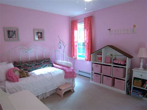A Nonprincess Pink Room