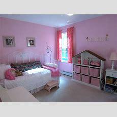 A Nonprincess Pink Room