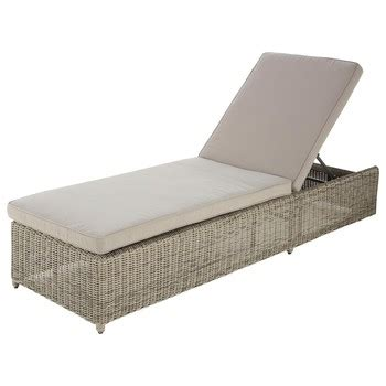 maison du monde coussin de chaise sun lounger outdoor furniture maisons du monde