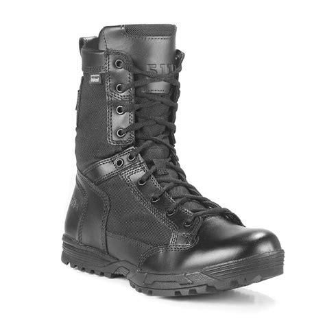 tactical waterproof boot zip side galls