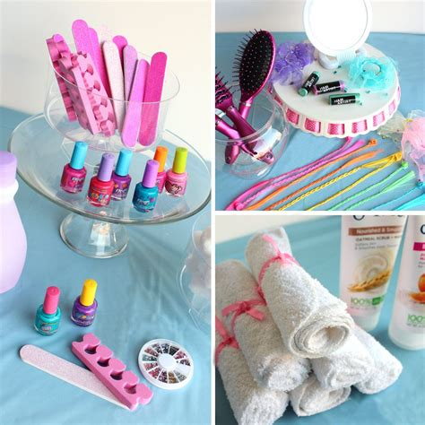 spa party ideas women party ideas  birthday   box