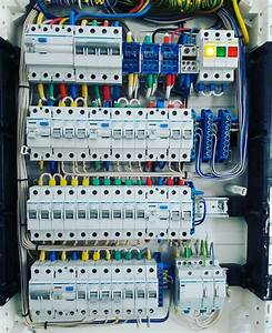 A Distribution Board  Also Known As Panelboard  Breaker