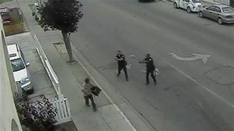 california police release video  deadly shooting video
