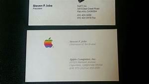 Visitenkarten Auf Rechnung Bestellen : steve jobs drei alte visitenkarte f r dollar versteigert ~ Themetempest.com Abrechnung