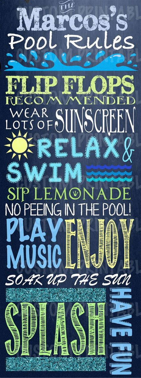 custom backyard signs 10 custom swimming pool signs you should try pools
