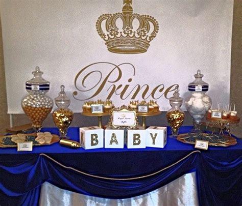 royal themed baby shower ideas royal prince baby shower white baby showers blue gold and royal blue