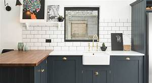 The east dulwich kitchen devol kitchens for Kitchen cabinet trends 2018 combined with craft beer stickers