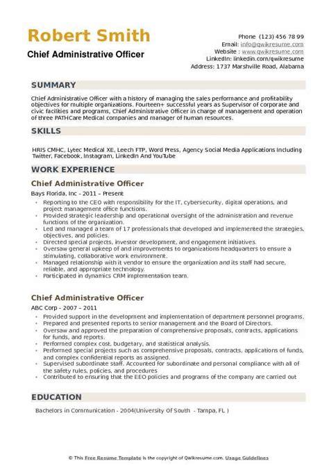 Resume Administrative Officer by Administrative Officer Resume Bijeefopijburg Nl