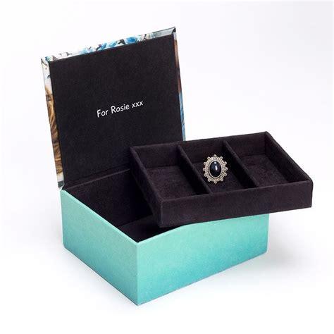 boite a bijoux personnalisable bo 238 te 224 bijoux personnalis 233 e avec photo et message livraison rapide
